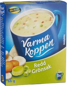 Bild på Blå Band Varma Koppen Redd Grönsakssoppa 3x2 dl