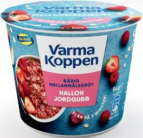 Bild på Blå Band Mellanmålsgröt Hallon & Jordgubb 54 g