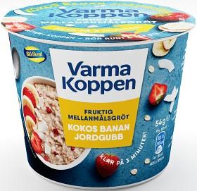 Bild på Blå Band Mellanmålsgröt Kokos, Banan & Jordgubb 54 g