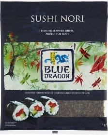 Bild på Blue Dragon Sushi Nori Sjögräsark 11 g / 5 st