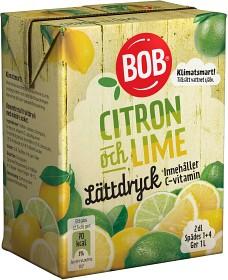 Bild på BOB Lättdryck Citron & Lime 2 dl