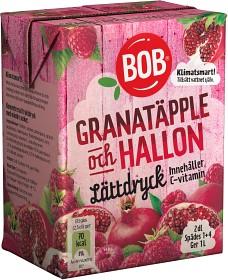 Bild på BOB Lättdryck Granatäpple & Hallon 2 dl