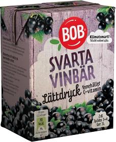 Bild på BOB Lättdryck Svarta Vinbär 2 dl