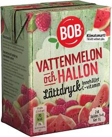 Bild på BOB Lättdryck Vattenmelon & Hallon 2 dl