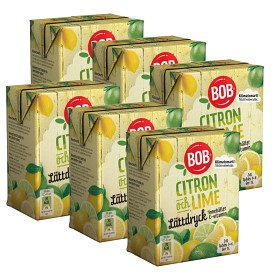 Bild på BOB Lättdryck Citron & Lime 6x2 dl
