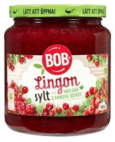 Bild på BOB Lingonsylt Mer Frukt 600 g
