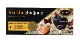 Bild på Bong Kycklingbuljong 12 p