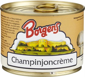 Bild på Borgens Champinjonkräm 185 g