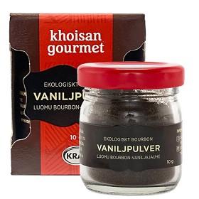 Bild på Khoisan Gourmet Bourbon Vaniljpulver 10 g