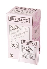 Bild på Bradley's Te White Strawberry Vanilla 25 p