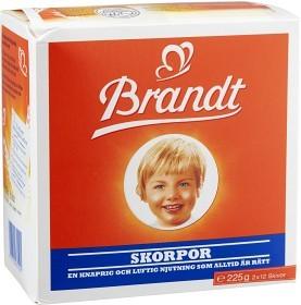 Bild på Brandt Skorpor 225 g
