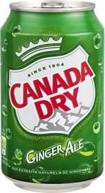 Bild på Canada Dry Ginger Ale 330 ml