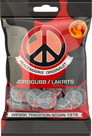 Bild på Candy People Peacemärke Jordgubb/Lakrits 80 g