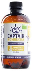 Bild på Captain Kombucha Pineapple Peach 400 ml