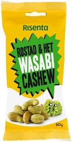 Bild på Risenta Cashewnötter Wasabi 60 g