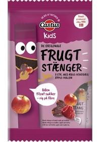 Bild på Castus Fruktstång Äpple & Hallon 5x20 g
