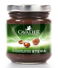 Bild på Cavalier stevia Hasselnötskräm 200 g