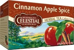Bild på Celestial Cinnamon Apple Spice Tea 20 tepåsar