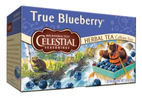 Bild på Celestial True Blueberry Tea 20 tepåsar