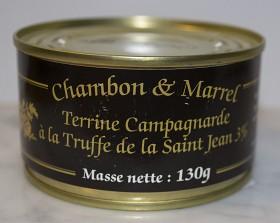 Bild på Chambon & Marrel Lantpaté med Tryffel 130 g