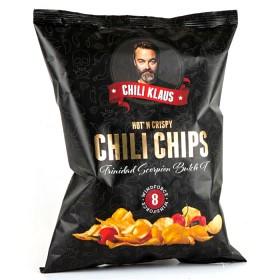 Bild på Chili Klaus Chips Trinidad Scorpion Butch T 150 g