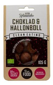 Bild på Clean Eating Choklad & Hallonboll 105 g