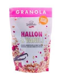 Bild på Clean Eating Granola Hallon & Vanilj 400 g