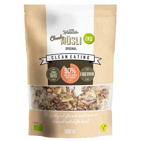 Bild på Clean Eating Müsli Chunky 500 g