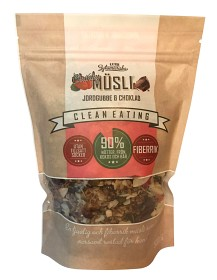 Bild på Clean Eating Müsli Chunky Jordgubbe & Choklad 500 g