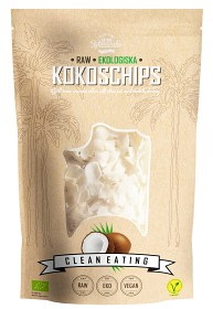 Bild på Clean Eating Raw Kokoschips 200 g