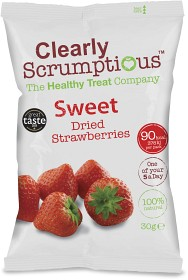 Bild på Clearly Scrumptious Sweet Dried Strawberries 30 g