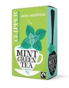 Bild på Clipper Green Tea with Mint 20 st