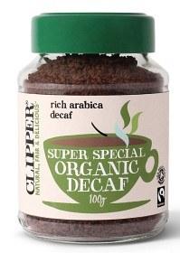 Bild på Clipper Super Special Organic Decaf snabbkaffe 100 g