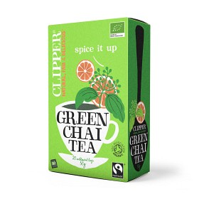 Bild på Clipper Green Chai 20 tepåsar