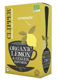 Bild på Clipper Organic Lemon & Ginger Infusion 20 st