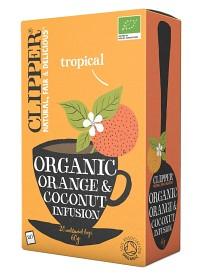 Bild på Clipper Organic Orange & Coconut Infusion 20 st