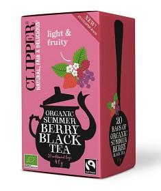 Bild på Clipper Organic Summer Berry Black tea 20 tepåsar