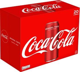 Bild på Coca-Cola Classic Burk 20x33 cl inkl. Pant