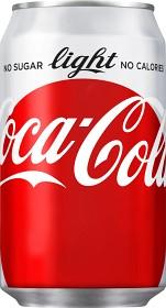 Bild på Coca-Cola Light Burk 33 cl inkl. pant