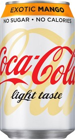 Bild på Coca-Cola Light Exotic Mango 33 cl inkl. Pant
