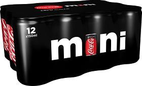 Bild på Coca-Cola Zero Mini Burk 12x15 cl inkl. pant