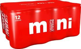 Bild på Coca-Cola Classic Mini Burk 12x15 cl inkl. pant