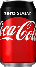 Bild på Coca-Cola Zero Burk 33 cl inkl. pant
