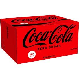 Bild på Coca-Cola Zero Burk 20x33 cl inkl. pant