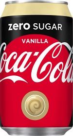 Bild på Coca-Cola Zero Vanilla Burk 33 cl inkl. pant