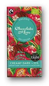 Bild på Creamy Dark Chocolate 55% 100 g