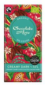 Bild på Creamy Dark Chocolate 55% 80 g