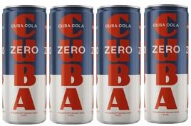 Bild på Cuba Cola Zero 4x33 cl inkl. Pant