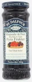 Bild på St. Dalfour Marmelad 4 Frukter 284 g