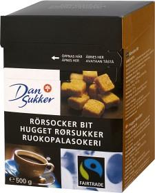 Bild på Dansukker Rörsocker Bit Fairtrade 500 g